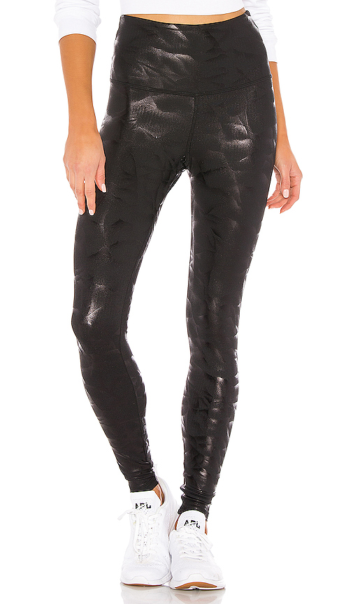 STRUT-THIS Teagan Ankle Legging in Black. - size M (also in L,S,XS)