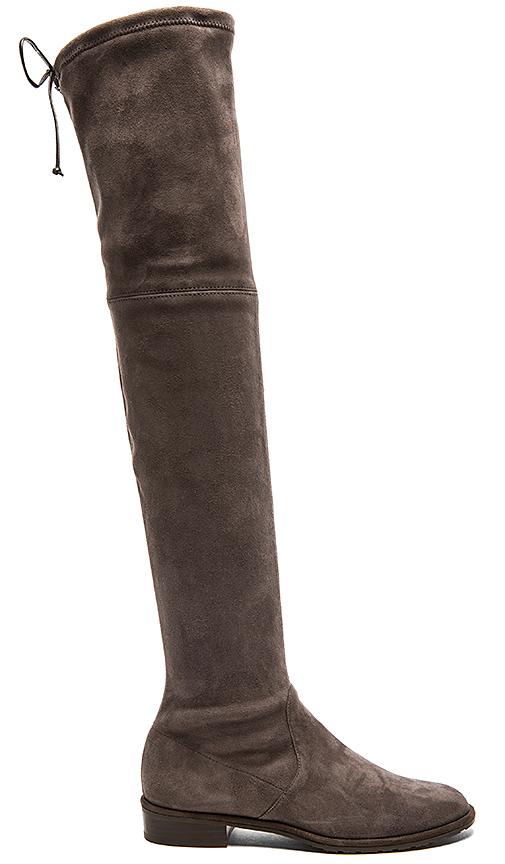 Stuart Weitzman Lowland Boot in Gray