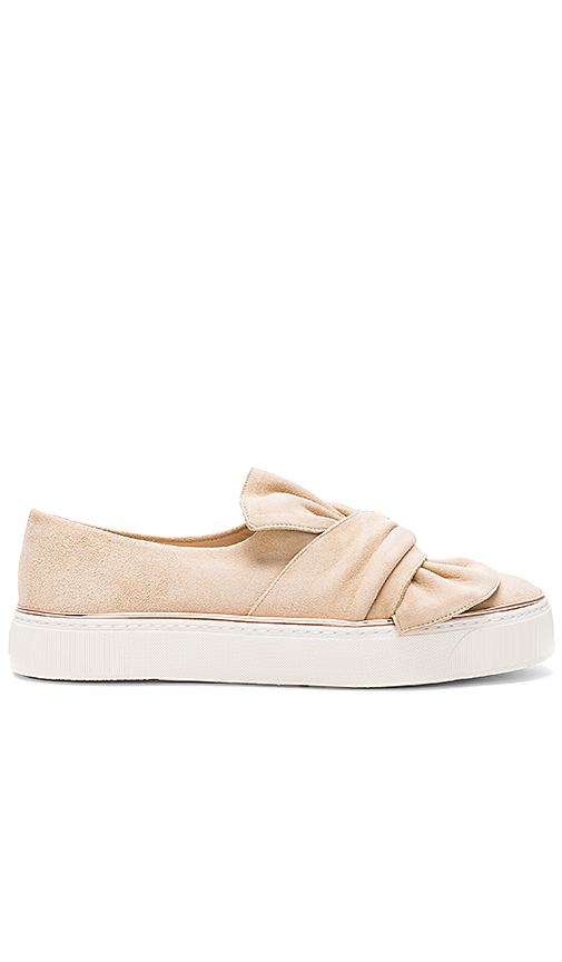 Photo of Stuart Weitzman Twisteze Sneaker in Beige - shop Stuart Weitzman shoes sales
