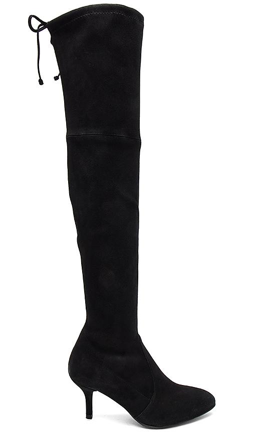 Stuart Weitzman Tiemodel Boot in Black