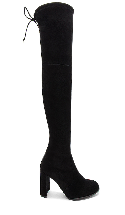 Stuart Weitzman Hiline Boot in Black