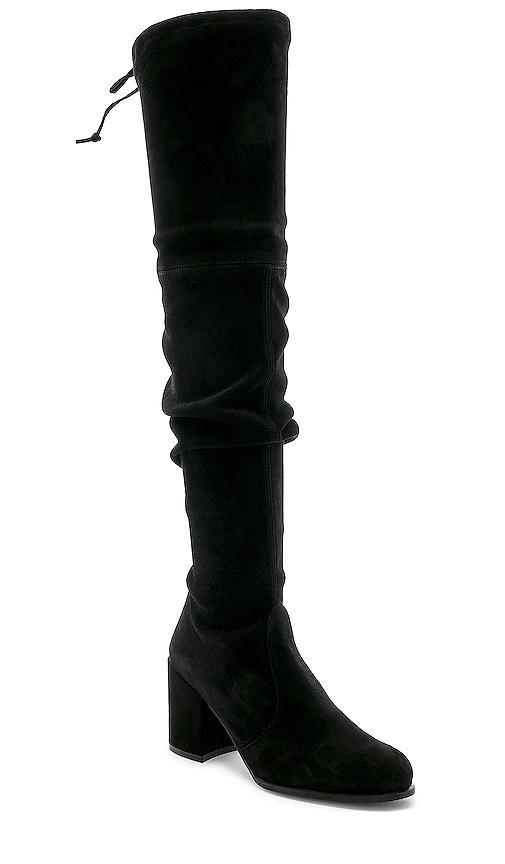 Stuart Weitzman Tieland Boots in Black. - size 8 (also in 9)