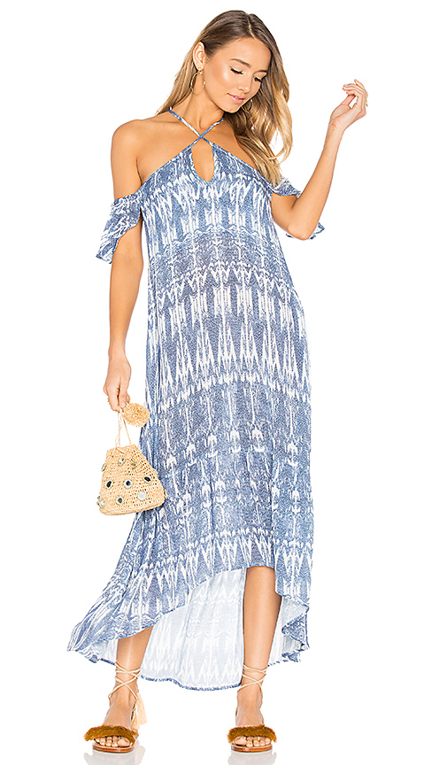 Suboo Lover Maxi Dress in Blue