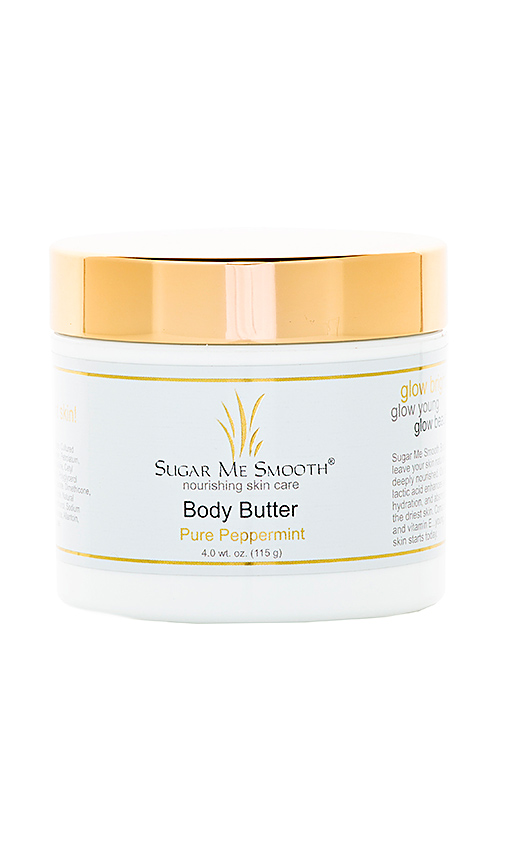 Sugar Me Smooth Pure Peppermint Body Butter in Beauty: NA.