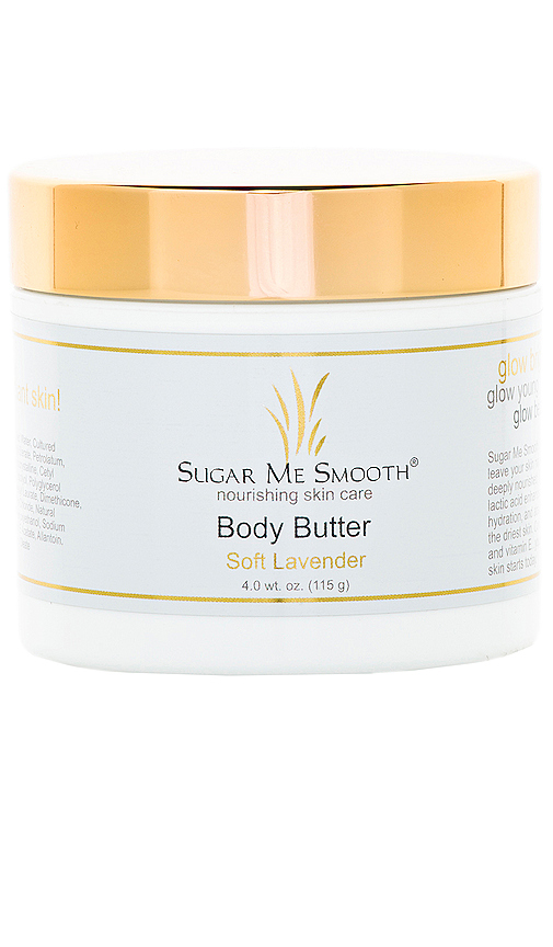 Sugar Me Smooth Soft Lavender Body Butter in Beauty: NA.