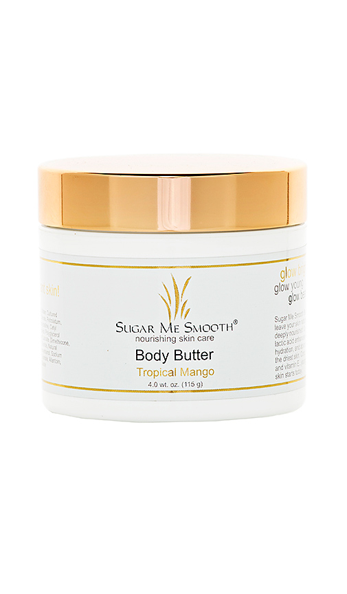 Sugar Me Smooth Tropical Mango Body Butter in Beauty: NA.