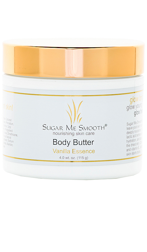 Sugar Me Smooth Vanilla Essence Body Butter in Beauty: NA.