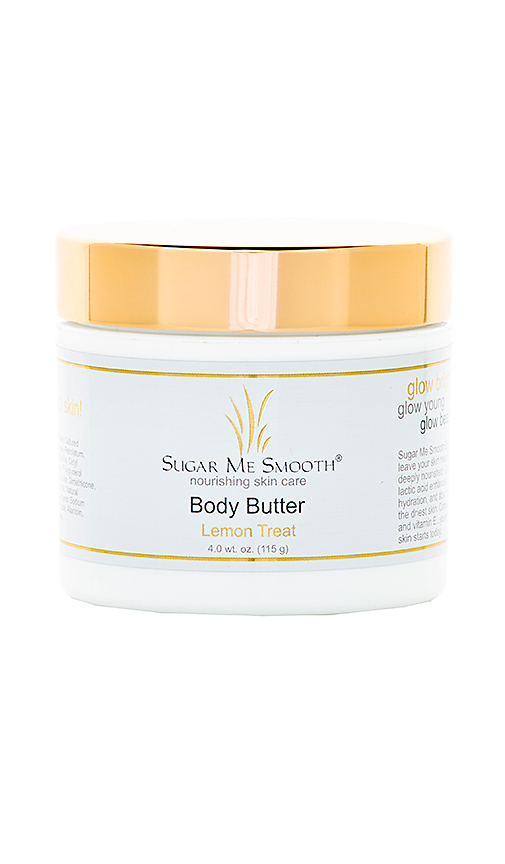 Sugar Me Smooth Lemon Treat Body Butter in Beauty: NA.