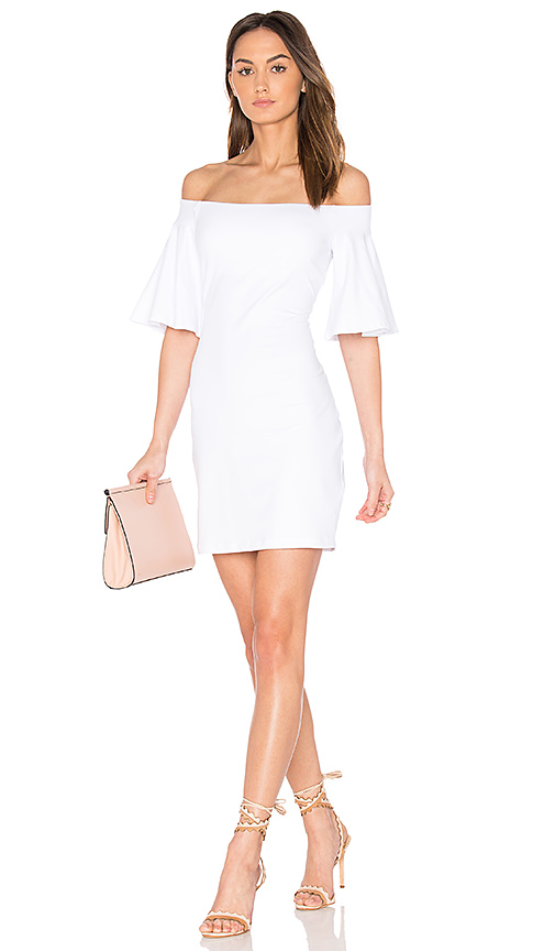 Susana Monaco Sasha Dress in White
