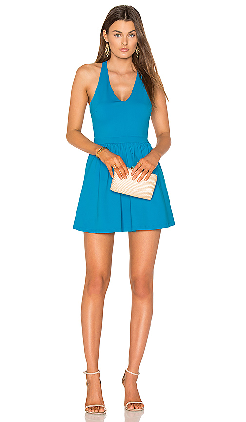 Susana Monaco Sloane 16 Dress in Blue