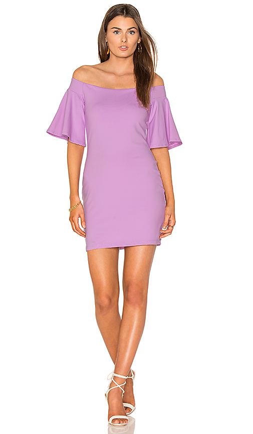 Susana Monaco Sasha Dress in Purple