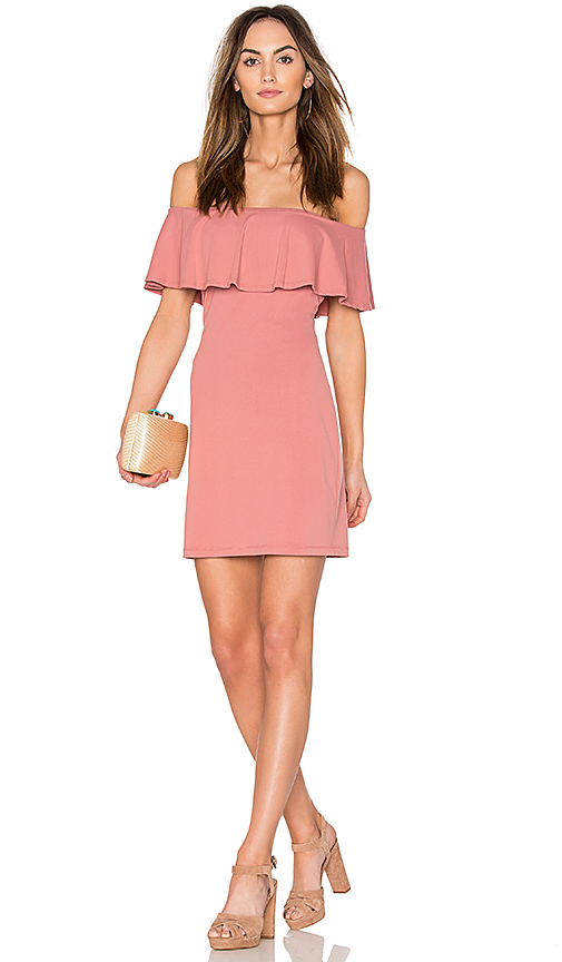 Susana Monaco Hannah Dress in Pink