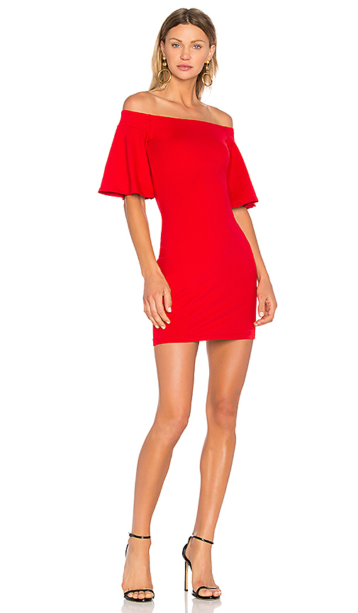 Susana Monaco Sasha 18 Dress in Red