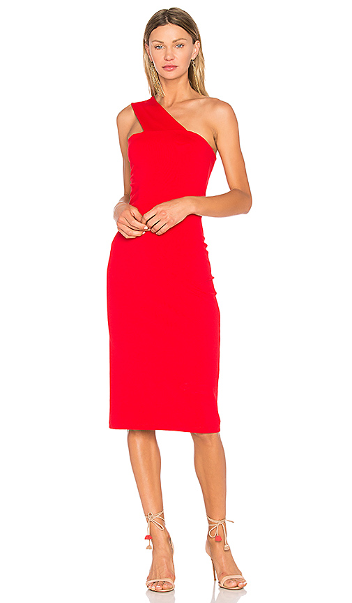 Susana Monaco Tina Dress in Red