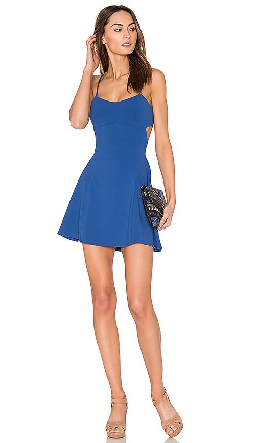Susana Monaco Jane 16 Dress in Blue