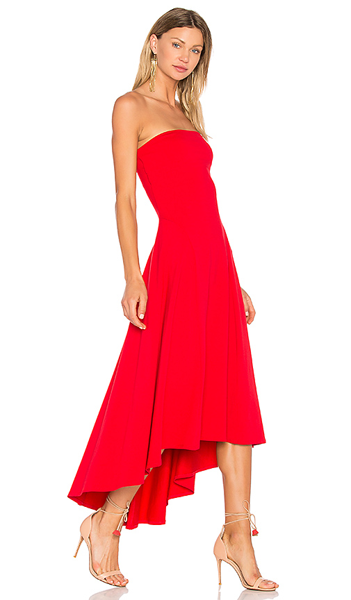 Susana Monaco Bena Dress in Red