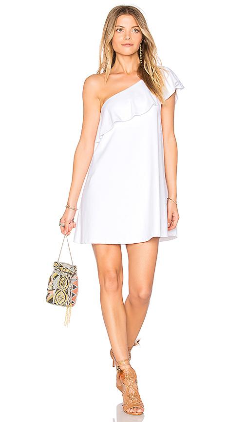 Susana Monaco Arwen 16 Dress in White. - size L (also in M,S,XS)