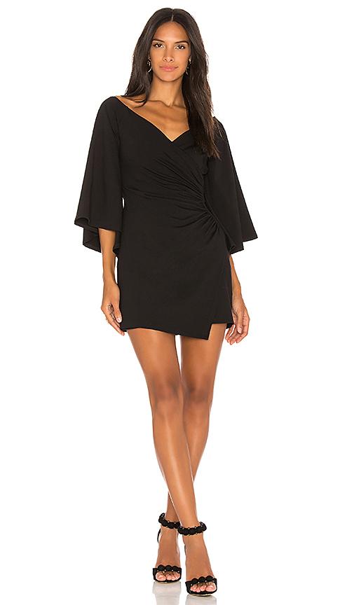 Susana Monaco Bianca 16 Dress in Black