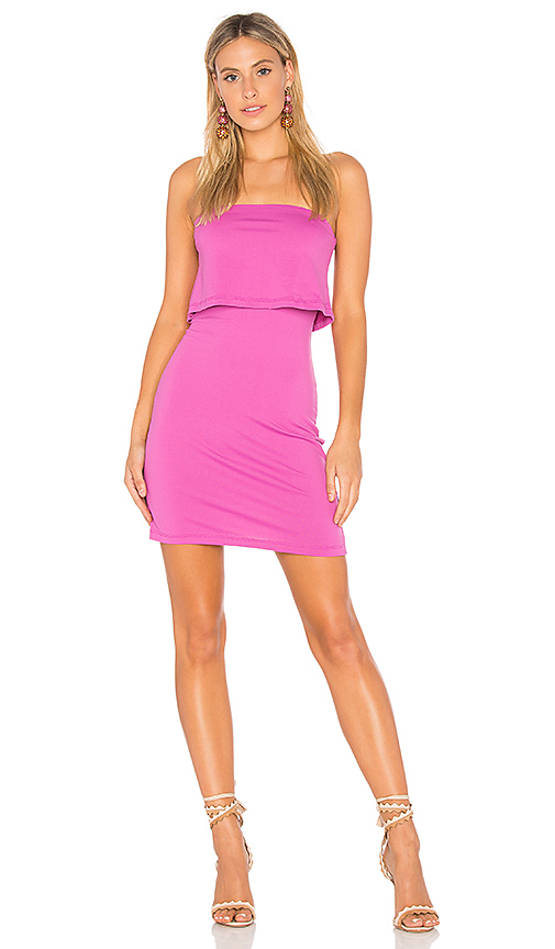 Susana Monaco Meredith Dress in Fuchsia