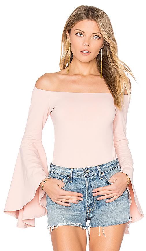 Susana Monaco x REVOLVE Jordan Bodysuit in Pink