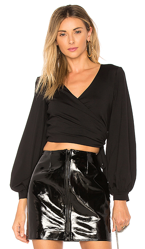 Susana Monaco Kathy Top in Black