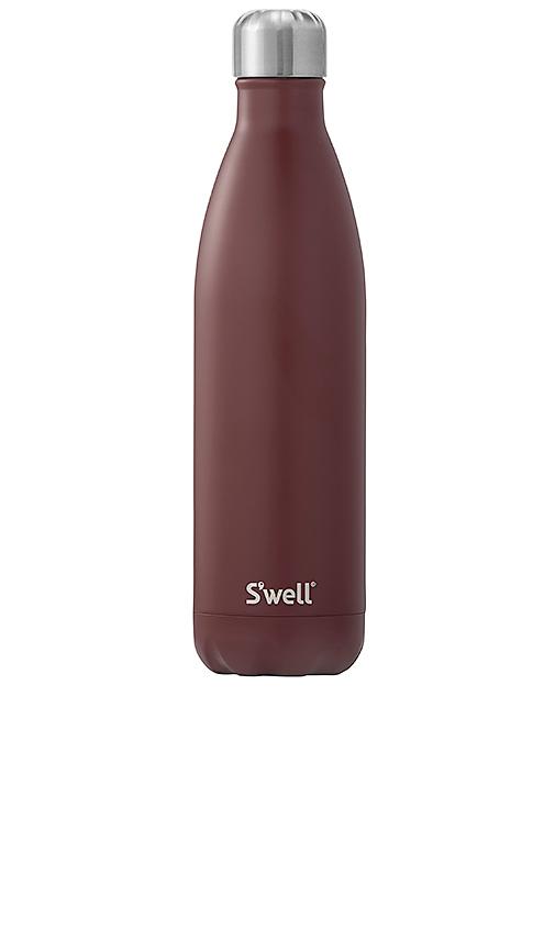 S'well Satin 25oz Water Bottle in Burgundy.