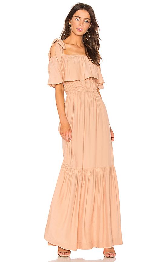 SWF Chloe Maxi Dress in Blush