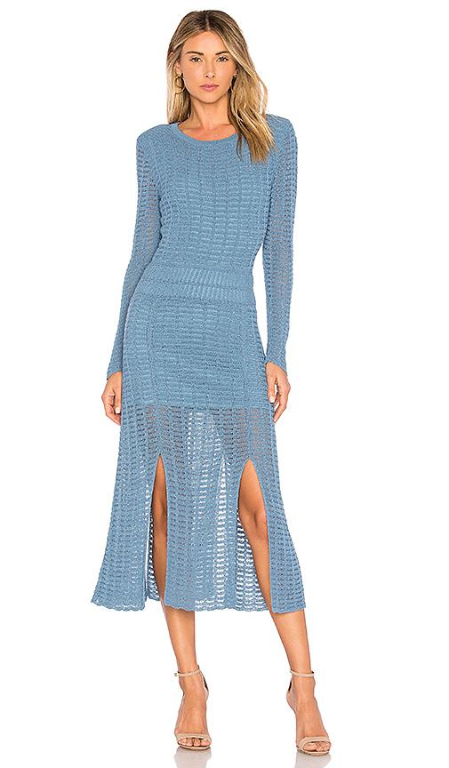 Tabula Rasa Mineras Sweater Dress in Blue