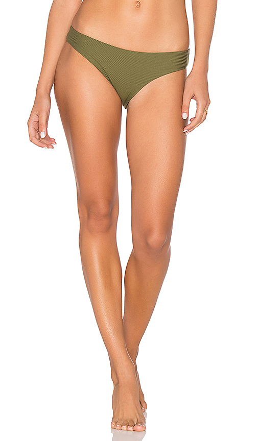 TAVIK Swimwear Ali Moderate Bikini Bottoms in Olive