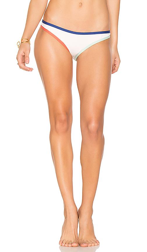 TAVIK Swimwear Jayden Moderate Bikini Bottom in White