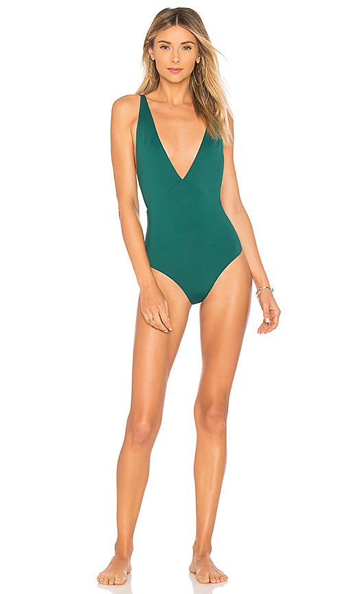 TAVIK Swimwear Drew One Piece in Green