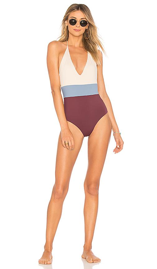 TAVIK Swimwear Chase One Piece in Blue