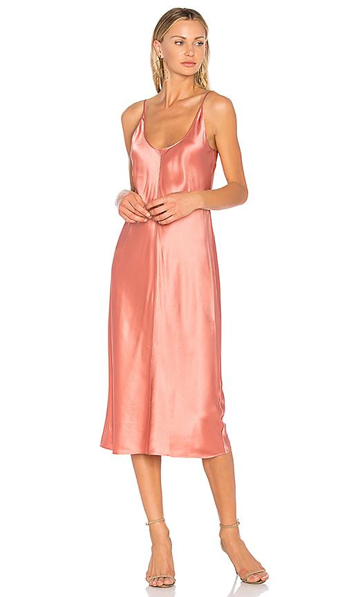 T by Alexander Wang Slip Dress in Rose