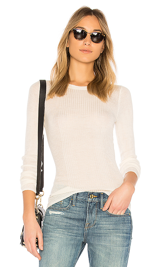 T by Alexander Wang Wash & Go Top in Ivory