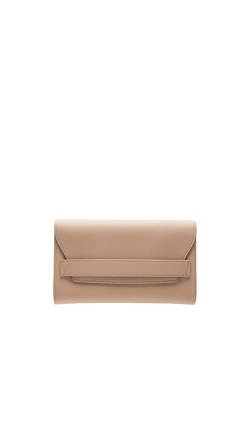 the daily edited Fold Clutch in Tan