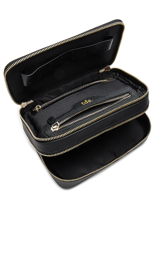 the daily edited Travel Jewelry Case in Black