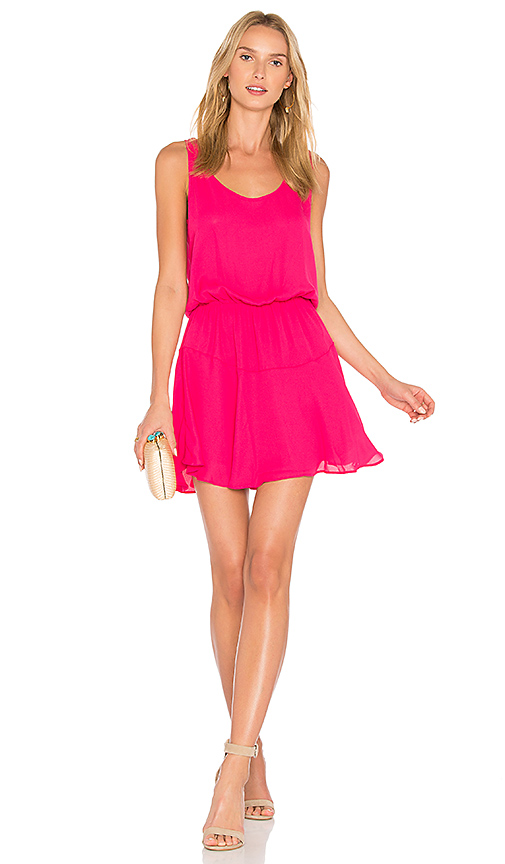 Three Eighty Two Lila Dress in Pink