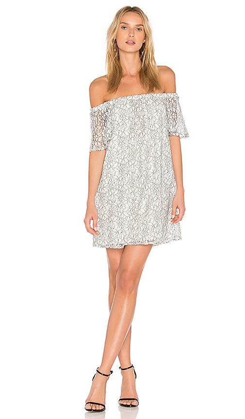 Three Eighty Two Tatum Dress in White