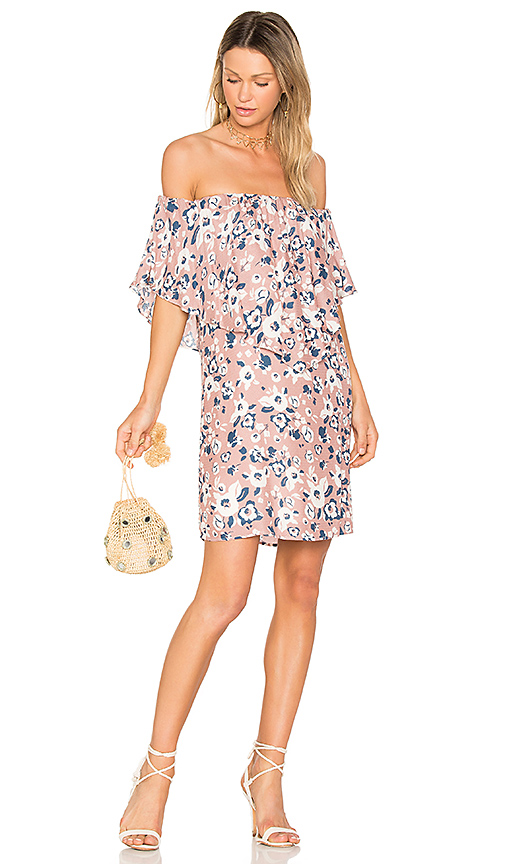 Three Eighty Two Reese Dress in Pink