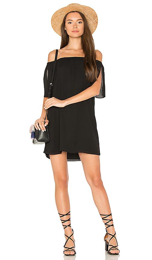 Three Eighty Two Kenzie Dress in Black