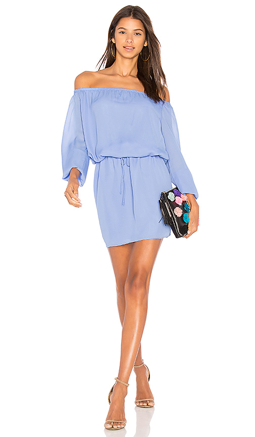 Three Eighty Two Willow Dress in Lavender