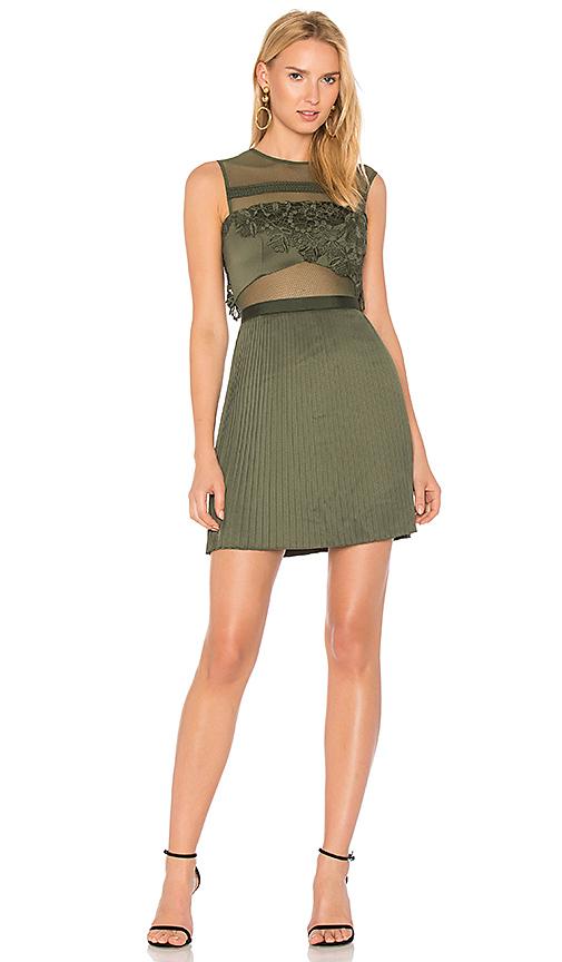 Three Floor Invidia Dress in Green