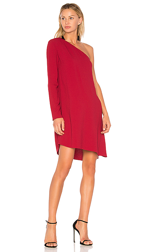 Photo of Theory Sintsi Dress in Red - shop Theory dresses sales