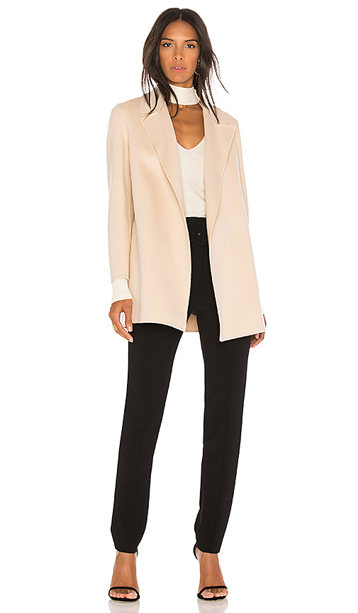 Theory Clairene Coat in Pink