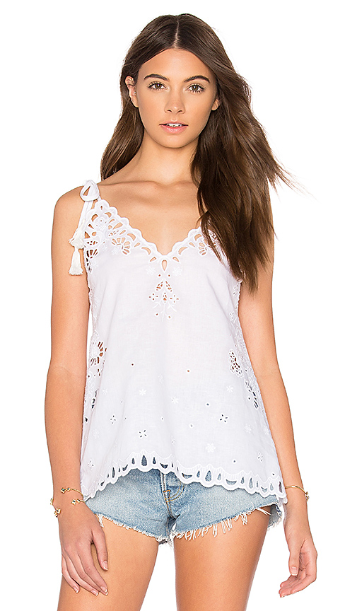 Photo of Theory Wiola Cami in White - shop Theory tops sales