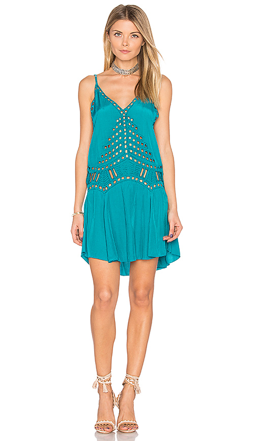 Tiare Hawaii Soho Dress in Green. - size M/L (also in S/M)