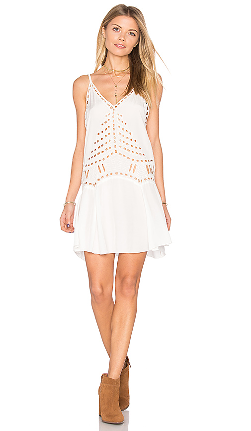 Tiare Hawaii Soho Dress in White. - size M/L (also in S/M)