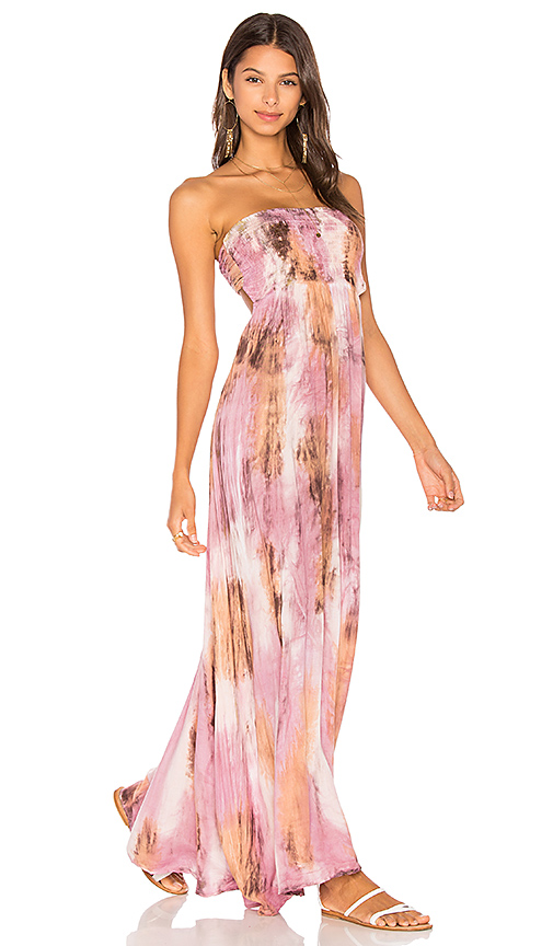Tiare Hawaii Kai Maxi Dress in Mauve.