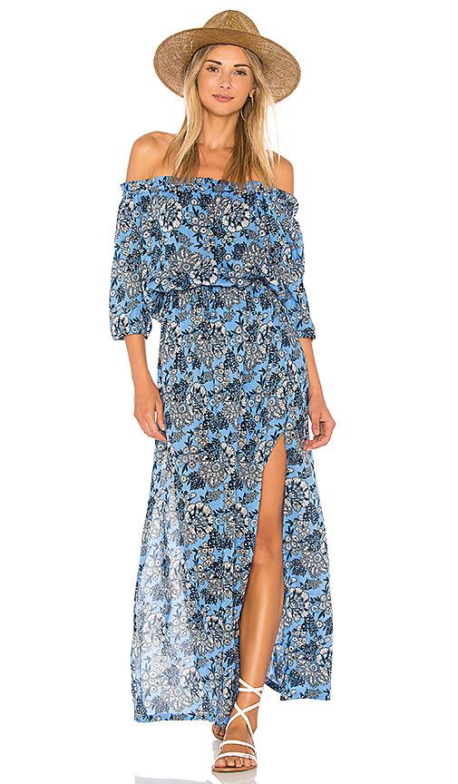 Tiare Hawaii Sage Dress in Blue