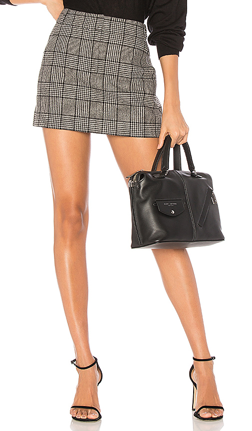 Tibi Aldrige Tweed Skirt in Black. - size 0 (also in 2,4,6)